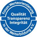 Logo von FWW Forum Werteorientierung in der Weiterbildung e.V.